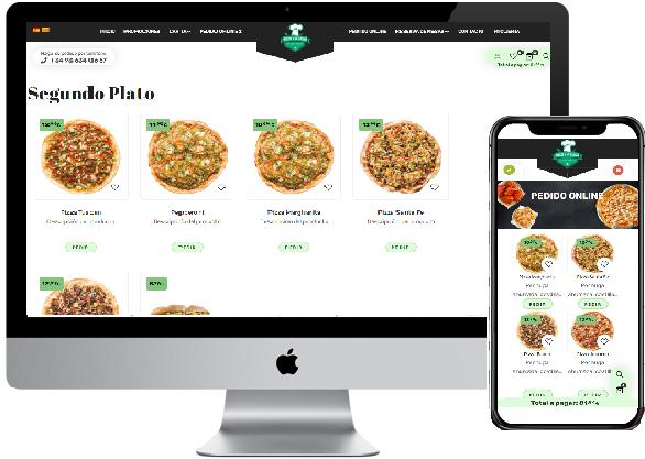 web appeat pedidos restaurante online